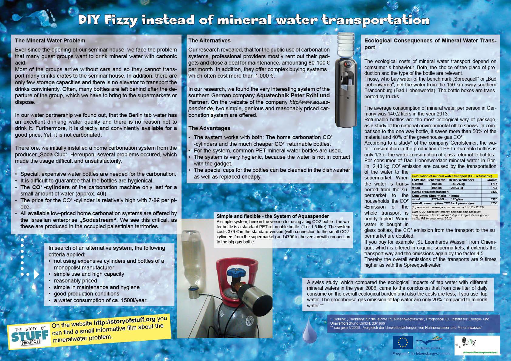 """Ausstellung """"Wasser und Nachhaltigkeit"""" - Tafel 4"""