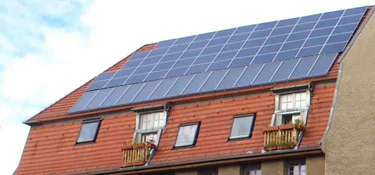 Solardach Solarthermie Monitoring