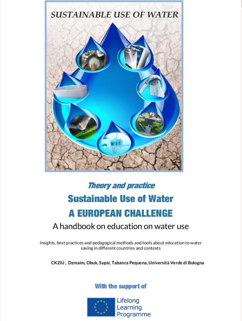 "Link zum Handbuch ""Sustainable Use of Water"""